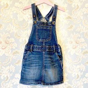 Gap Kids Girl's Overall Jean Dress